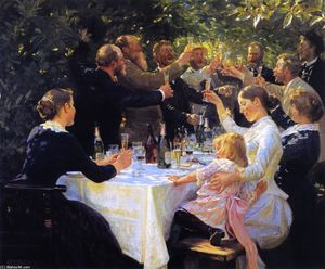 Peder Severin Kroyer - Hip, Hip, Hourra!