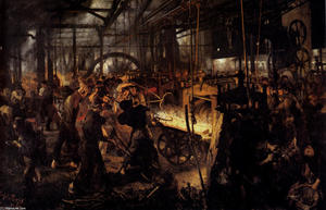 Adolph Menzel - The Foundry