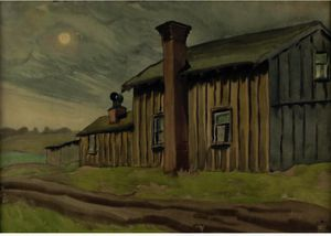 Charles Ephraim Burchfield - Skies Bleak