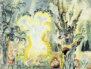 Charles Ephraim Burchfield - Gateway to Septembre