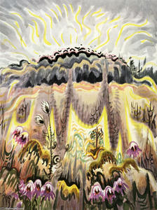 Charles Ephraim Burchfield - Hot Wind Septembre