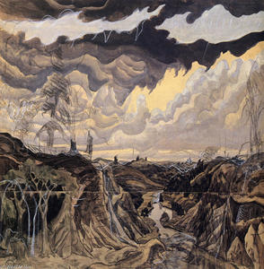 Charles Ephraim Burchfield - Jaws Of The World