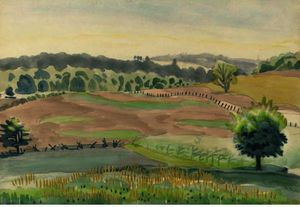 Charles Ephraim Burchfield - Meadows septembre