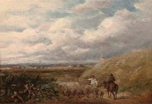 David Cox - Changement de pâturages