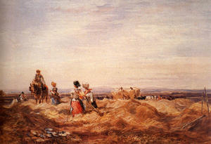 David Cox - Dans Le Hayfield