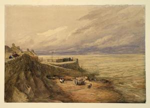 David Cox - Lynmouth Port
