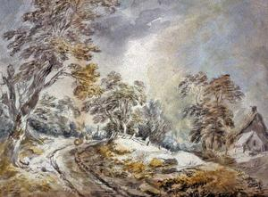 David Cox - paysage dhiver