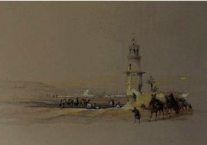 David Roberts - Siout, Haute-Egypte