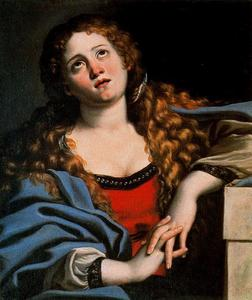 Domenichino (Domenico Zampieri) - Sainte Marie-Madeleine
