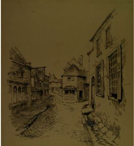 Eanger Irving Couse - anglais croquis 3