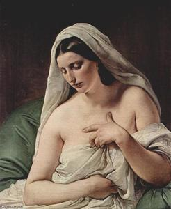 Francesco Hayez - Odalisque 1