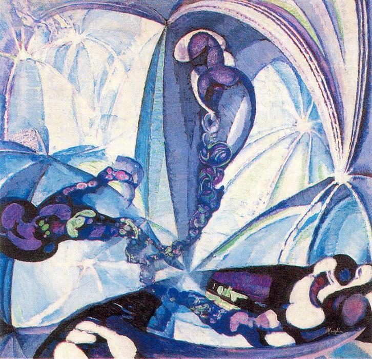Espaces animés de Frantisek Kupka (1871-1957, Czech Republic) |  | WahooArt.com