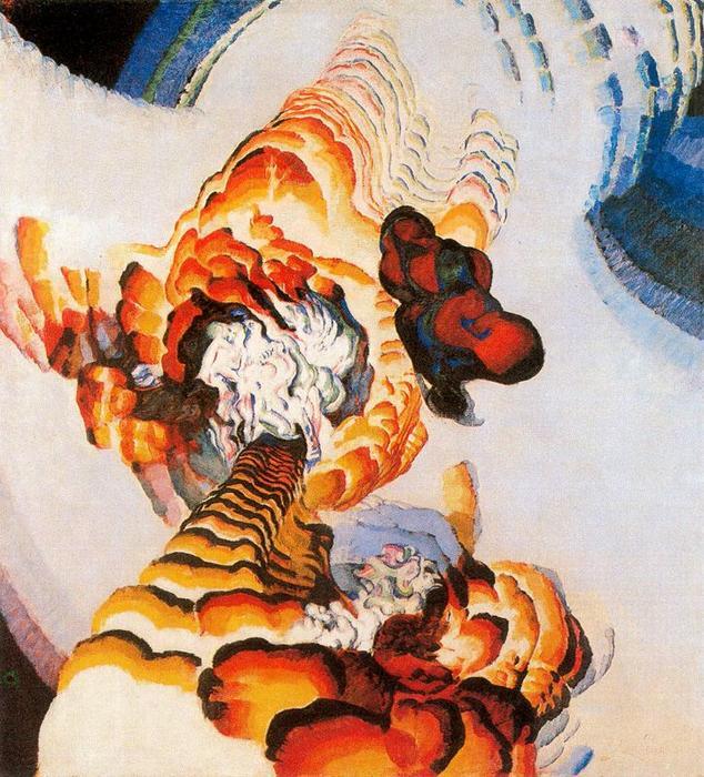Conte de pistils et étamines 1 de Frantisek Kupka (1871-1957, Czech Republic) |  | WahooArt.com