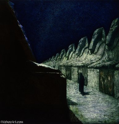 The Way of Silence II de Frantisek Kupka (1871-1957, Czech Republic) | Copie Tableau | WahooArt.com