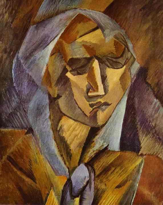 Chef d 39 un femme de georges braque 1882 1963 france for Braque oeuvres