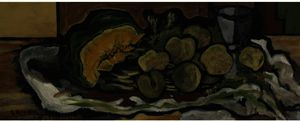 Georges Braque - Melon , Fruits , Verre