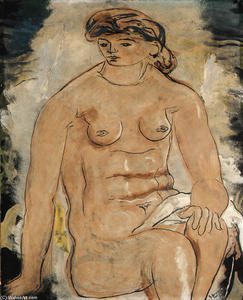 Georges Braque - femme assise 1