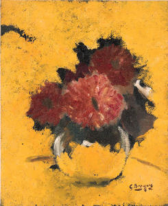 Georges Braque - The Red Dahlia