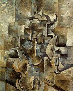 Georges Braque - Violon et chandelier