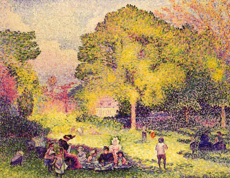 Le Ranelagh, 1899 de Henri Edmond Cross (1856-1910, France) | Copie Tableau | WahooArt.com
