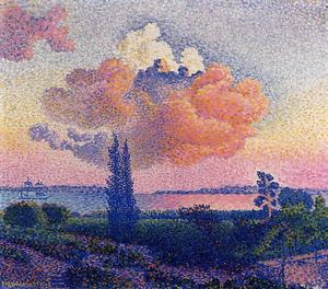 Henri Edmond Cross - Le Pink Cloud