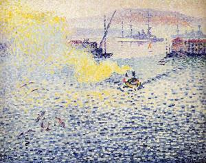 Henri Edmond Cross - Toulon , hiver matin