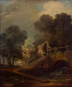 Hubert Robert - vol des galatea