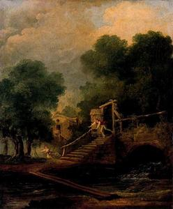 Hubert Robert - Le vol