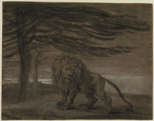James Ward - lion une  Paysage