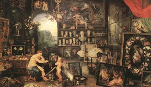 Jan Brueghel The Elder - Le sens de la vue