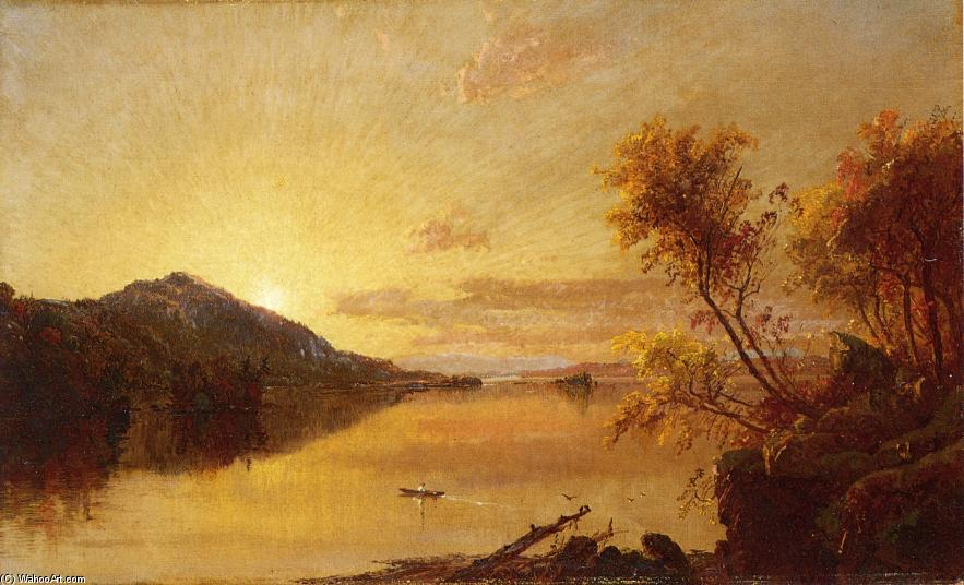paysage dautomne 2   de Jasper Francis Cropsey (1823-1900, United States) | WahooArt.com