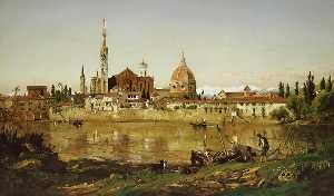 Jasper Francis Cropsey - Florence