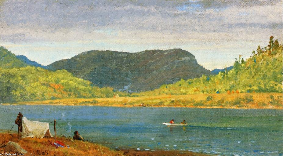 Greenwood Lac 1 de Jasper Francis Cropsey (1823-1900, United States)