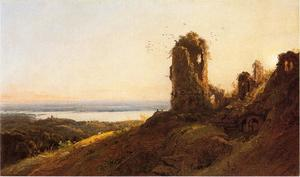 Jasper Francis Cropsey - italien paysage