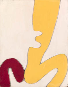 Jean (Hans) Arp - Personnage assis