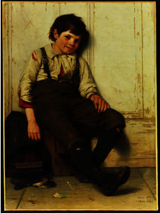 John George Brown - Lazy Bones