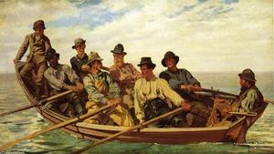 John George Brown - Tirez pour la Rive-