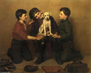 John George Brown - Le Foundling
