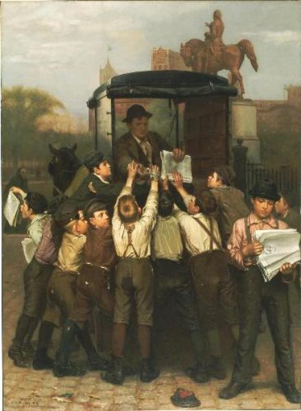 le dernier édition de John George Brown (1831-1913, United Kingdom)