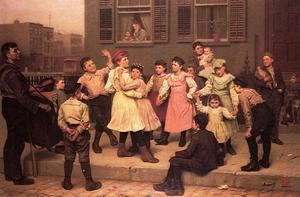 John George Brown - Le Trottoir Dance (aka un trottoir Dance)