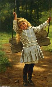 John George Brown - The Swing 1