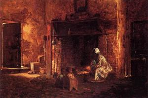 Jonathan Eastman Johnson - Cuisine à Mount Vernon