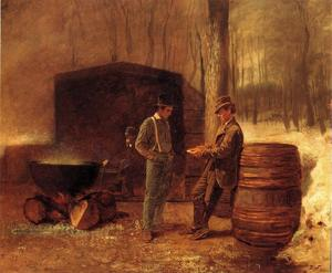 Jonathan Eastman Johnson - Mesure et Contemplation