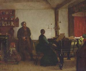 Jonathan Eastman Johnson - Play Me Tune