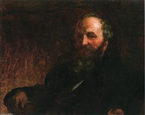 Jonathan Eastman Johnson - Portrait à of James g . Wilson