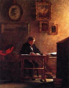Jonathan Eastman Johnson - portrait d-individu 1
