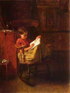 Jonathan Eastman Johnson - Le Boston Rocker