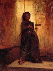 Jonathan Eastman Johnson - Le jeune Sweep