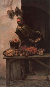 José Jiménez Aranda - Vendeuse de fruits