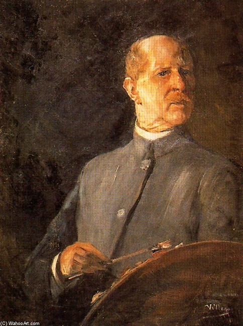 Self-Portrait 2 de José Villegas Cordero (1844-1921, Spain)
